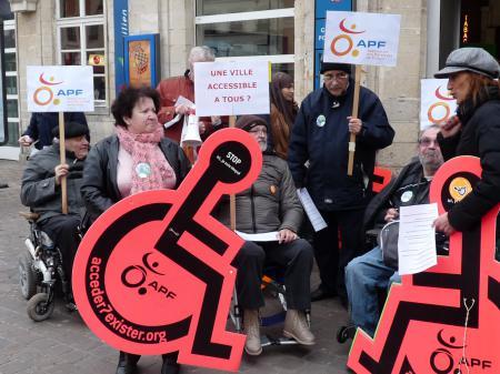 Manifestation à Pontoise