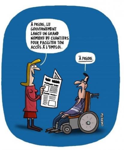 chômage, handicap